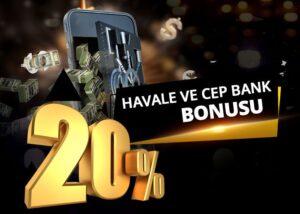 %20 Havale ve Cepbank Yatırım Bonusu