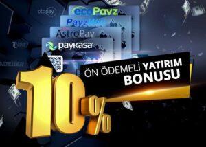 %10 Elektrokart Bonusu (Ön Ödemeli Yatırım Bonusu)