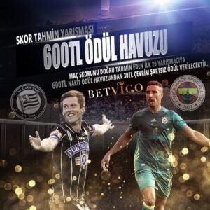 Sturm Graz – Fenerbahçe Maçı Skor Tahmin Yarışması 600 TL Ödül Havuzu